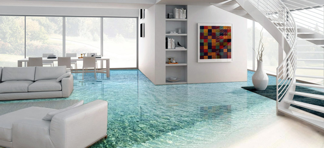 Creative Epoxy Flooring Design Options 2020 - Butterfly Labs